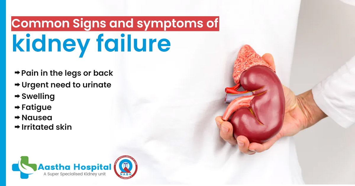 What Are The Topmost Common Signs And Symptoms Of Kidney Failure
