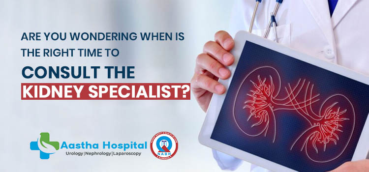 Are you wondering when is the right time to consult the kidney specialist?